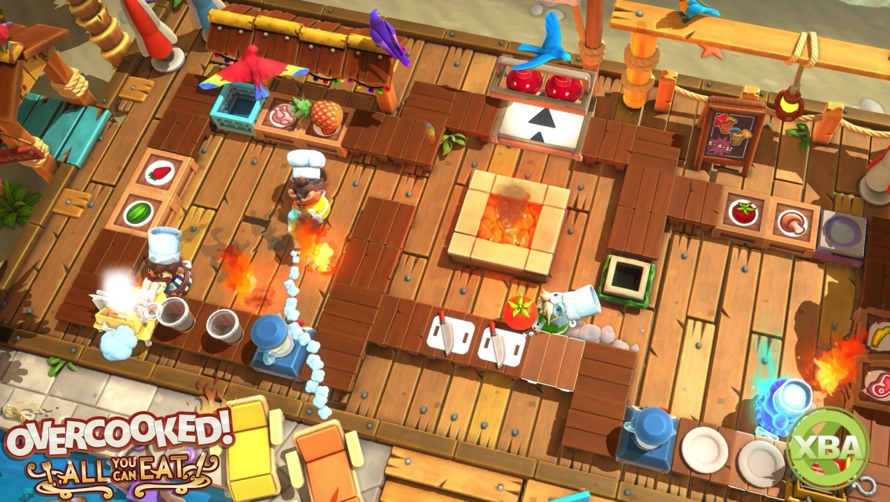 Overcooked! All You Can Eat Accessibility Features and Assist Mode Unveiled