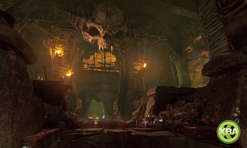 DOOM Multiplayer Video Explores All Nine Maps - Xbox One, Xbox 360 on