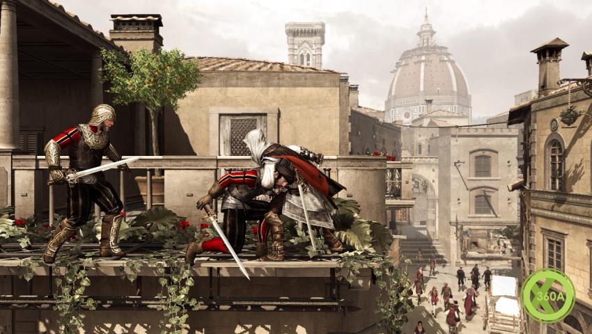 Рецензия Assassin's Creed 2 Крыши и балконы по прежнему излюбленное ме