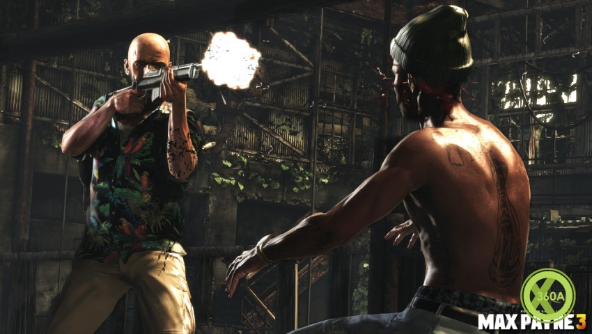 Max Payne 3 Rocks His Mini 30 Rifle In New Vid And Screens Xbox